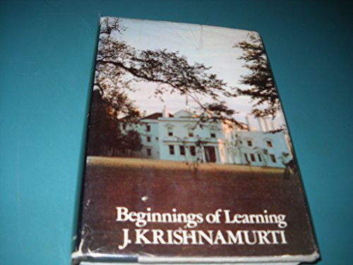 9780060648404: Beginnings of learning