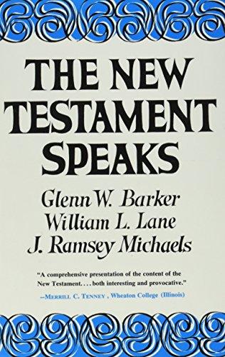 9780060649173: The New Testament Speaks