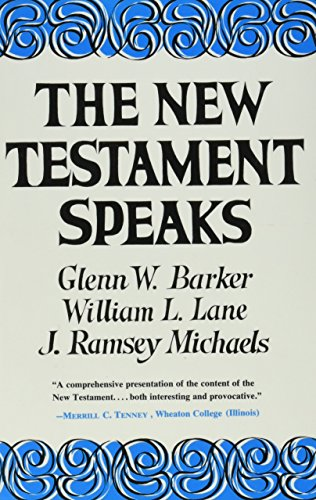 9780060649173: The New Testament Speaks