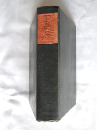 World's Best Loved Poems: Lawson, James G.