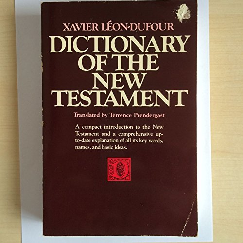 9780060652425: Dictionary of the New Testament