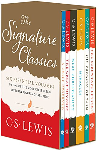 9780060653026: C. S. Lewis Signature Classics: Mere Christianity, The Screwtape Letters, A Grief Observed, The Problem of Pain, Miracles, and The Great Divorce (Boxed Set)