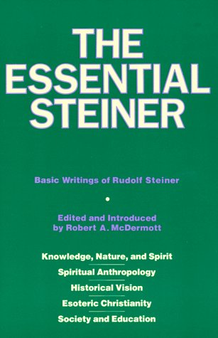 9780060653453: The Essential Steiner: Basic Writings of Rudolf Steiner: Knowledge, Nature, and Spirit; Spiritual Anthropology; Historical Vision; Esoteric Christianity; Society and Education