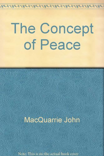 The concept of peace: John Macquarrie