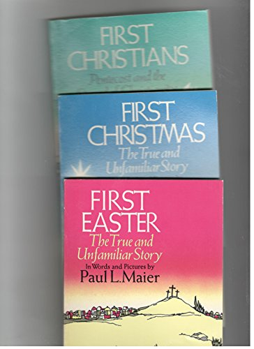 9780060653958: First Christmas, First Easter, First Christians (Boxed Set)