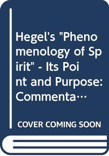 9780060654634: Hegel's