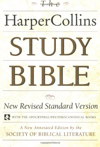 9780060655273: The HarperCollins Study Bible : New Revised Standard Version With the Apocryphal/Deuterocanonical Books