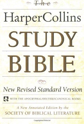 9780060655273: Bible: HarperCollins Study Bible