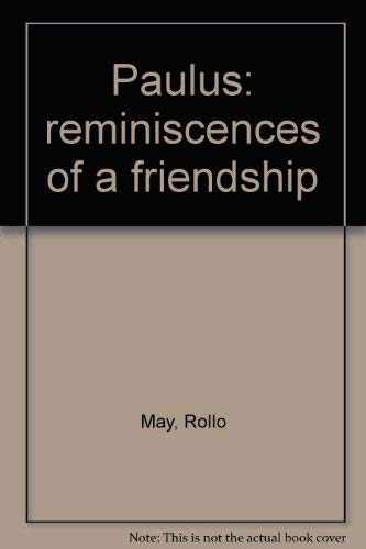 9780060655358: Paulus: reminiscences of a friendship
