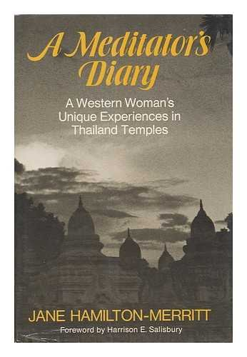 9780060655631: A meditator's diary: A western woman's unique experiences in Thailand temples