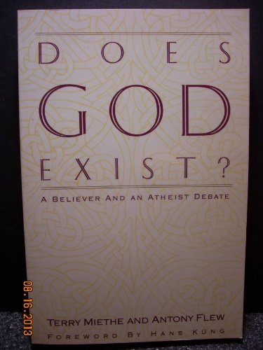 9780060655792: Does God Exist?: A Believer and an Atheist Debate