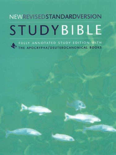 9780060655808: The Study Bible: New Revised Standard Version (NRSV), With the Apocryphal/Deuterocanonical Books