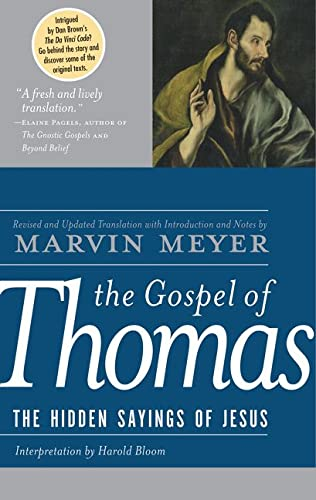 9780060655815: The Gospel of Thomas: The Hidden Sayings of Jesus