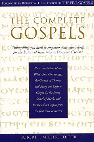 9780060655877: The Complete Gospels: Annotated Scholars Version