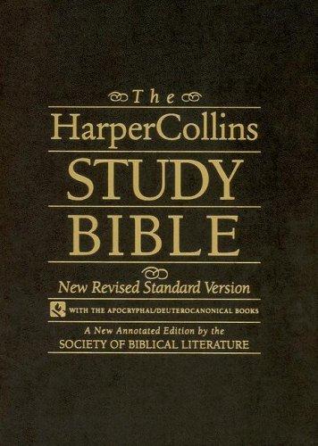 9780060656805: HarperCollins Study Bible-NRSV