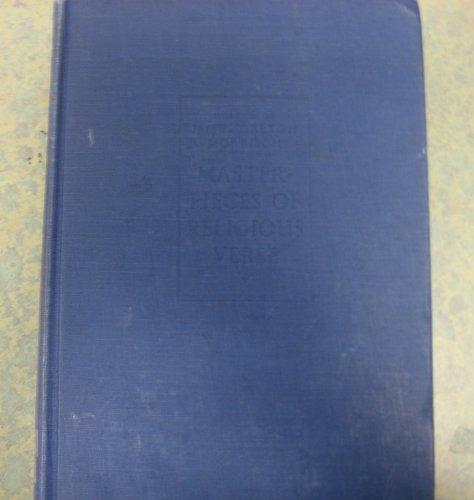 Masterpieces of religious verse: Morrison, James Dalton