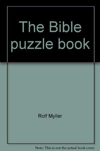 9780060660604: The Bible puzzle book