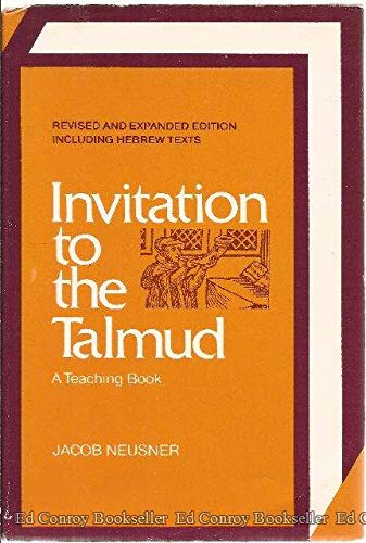 9780060660994: Invitation to the Talmud: A Teaching Book (English, Aramaic and Hebrew Edition)