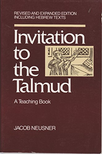 9780060661120: Invitation to the Talmud: A Teaching Book