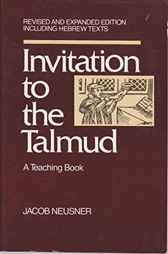 9780060661120: Invitation to the Talmud: A Teaching Book