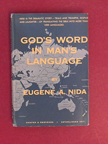 9780060661304: God's Word in Man's Language
