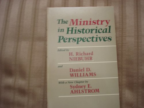 The Ministry in historical perspectives