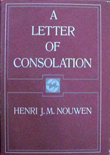 9780060663278: Letter of Consolation