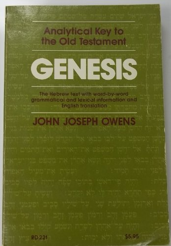 9780060664060: Genesis: Analytical Key to the Old Testament