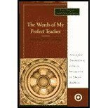 9780060664497: The Words of My Perfect Teacher/Kunzang Lama'I Shelung (Sacred Literature)