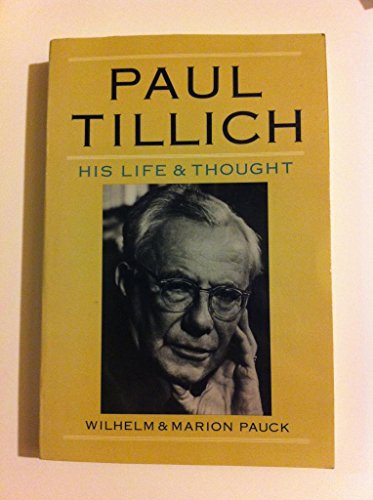 9780060664695: Paul Tillich: His Life and Thought