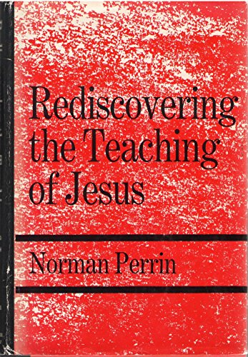 9780060664947: Rediscovering the Teaching of Jesus