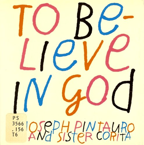 9780060666408: To Believe in God
