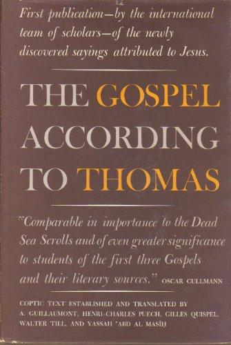 9780060667108: The Gospel according to Thomas