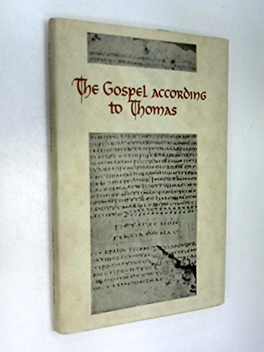 THE GOSPEL ACCORDING TO THOMAS: Guillaumont, A. ,