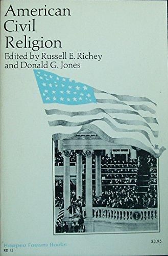 9780060668563: American civil religion (A Harper forum book)
