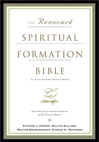 9780060671068: The NRSV Renovare Spiritual Formation Bible with the Deuterocanonical Books (With Deuterocanolical)