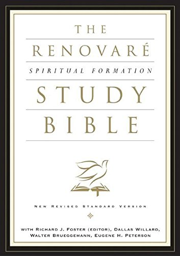 9780060671082: NRSV Renovare Spiritual Formation Bible