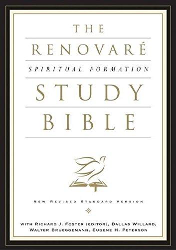 9780060671082: The NRSV Renovar� Spiritual Formation Bible