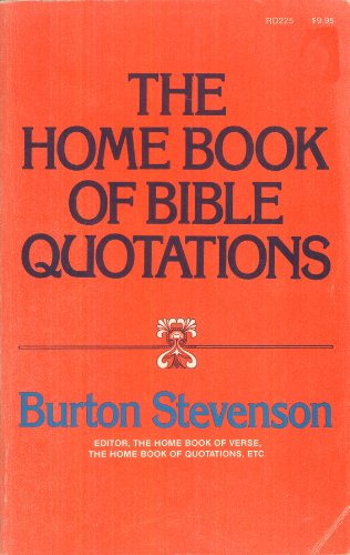 9780060676261: The Home Book of Bible Quotations