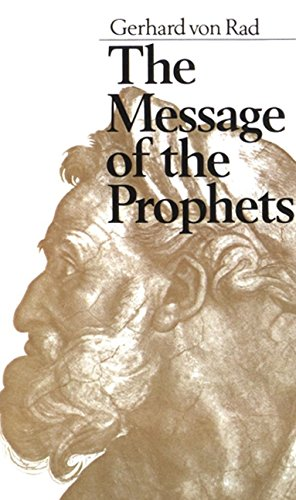 9780060689292: The Message of the Prophets