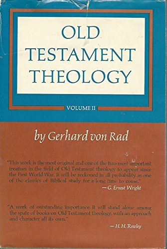 9780060689308: Old Testament Theology: 1