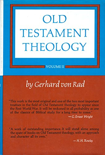 9780060689315: Old Testament Theology, Vol. 2: The Theology of Israel's Prophetic Traditions