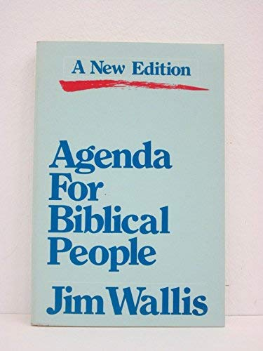 9780060692346: Agenda for Biblical People
