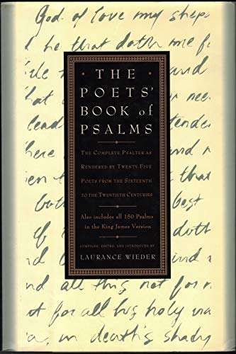 The Poets' Book of Psalms: The Complete: Laurence Wieder