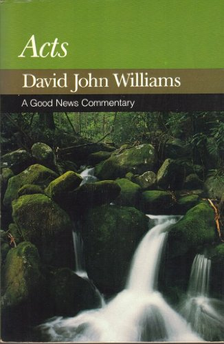 9780060694517: Acts (A Good news commentary)