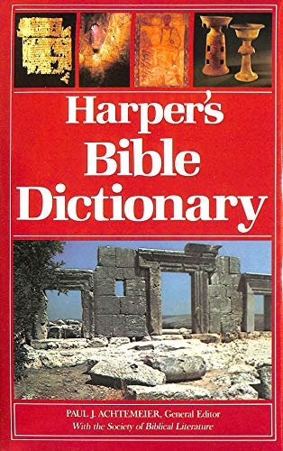 9780060698638: Harper's Bible Dictionary