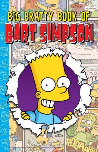 9780060721787: Big Bratty Book of Bart (Simpsons Comic Compilations)