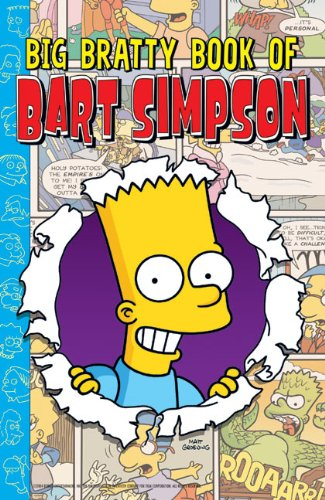 9780060721787: Big Bratty Book of Bart Simpson (Simpsons Comic Compilations)