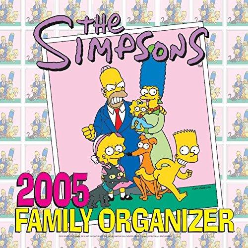 9780060722371: The Simpsons 2005 Family Organizer