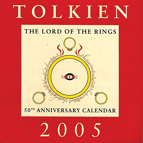 9780060722982: Tolkien 2005 Calendar: The Lord of the Rings 50th Anniversary Calendar
